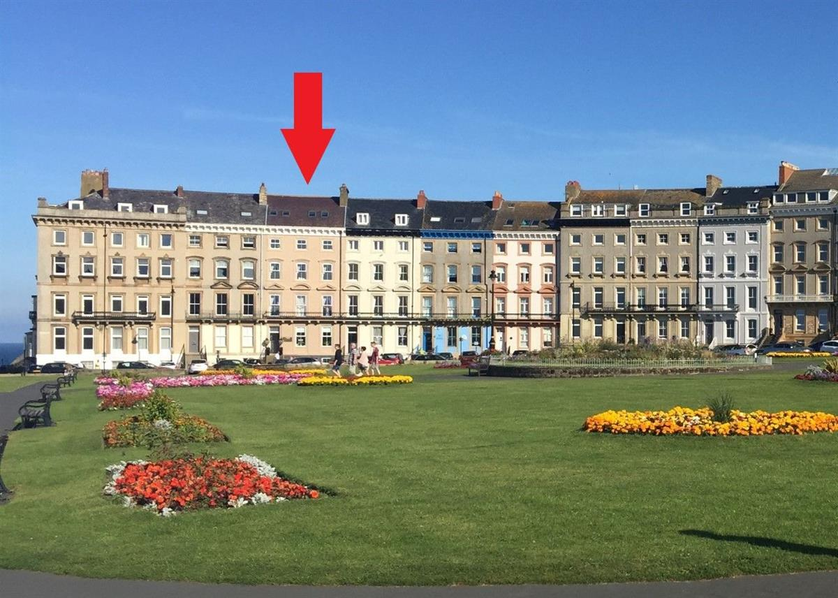 Crescent Garden House,  Royal Crescent, Whitby